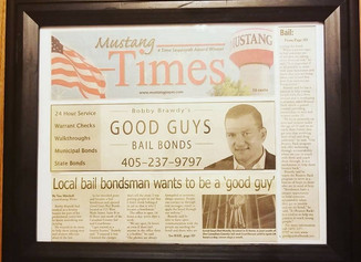 Mustang, OK bail bondsman wants to be a 'good guy'