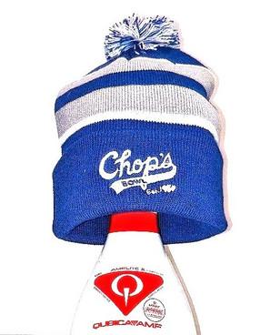 Blue Stocking Cap
