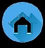 home-icon-white-silhouette-on-blue-round