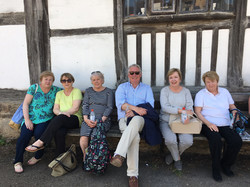 with ladies Lacock