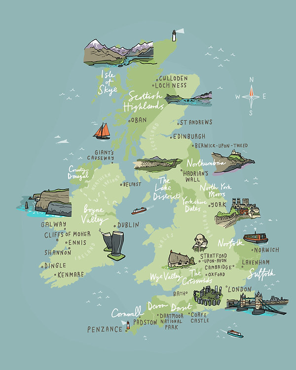 private tours of ireland, private tours of scotland, private tours of great britain