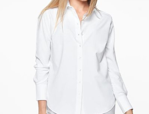 THE CLASSY WHITE BLOUSE