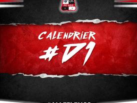 Calendrier D1