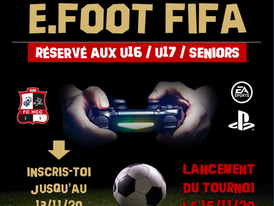 Tournoi E-Foot
