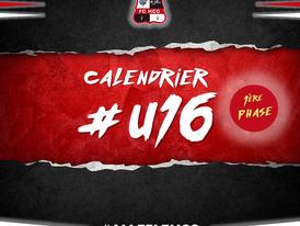 Calendrier U16