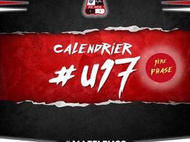 Calendrier U17