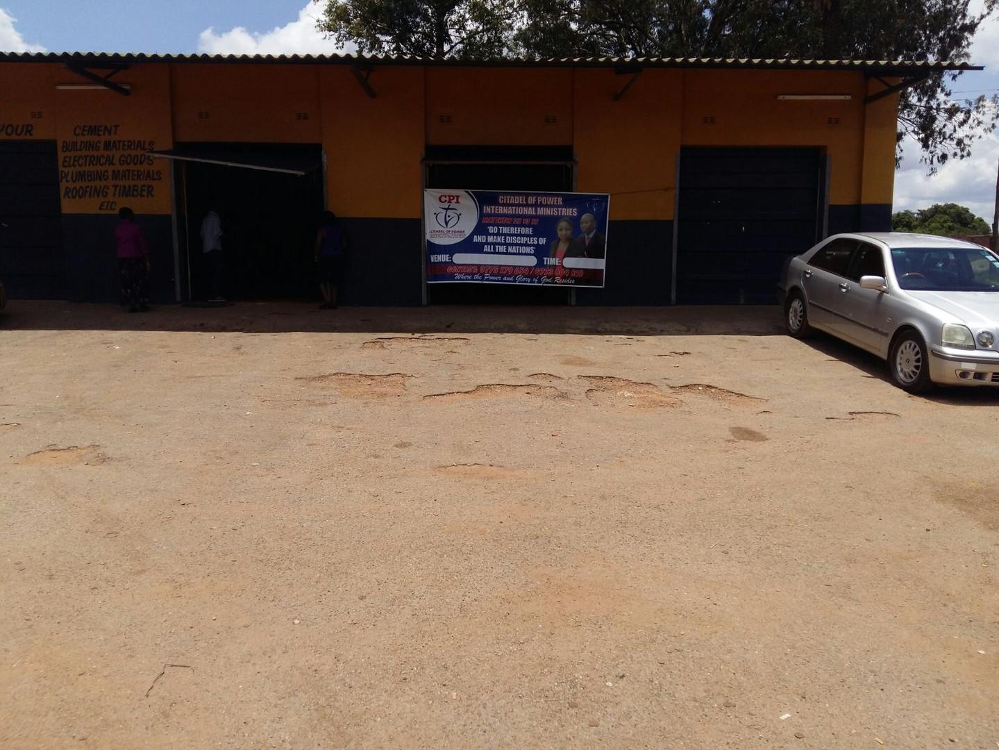 Garage for our church service.jpg