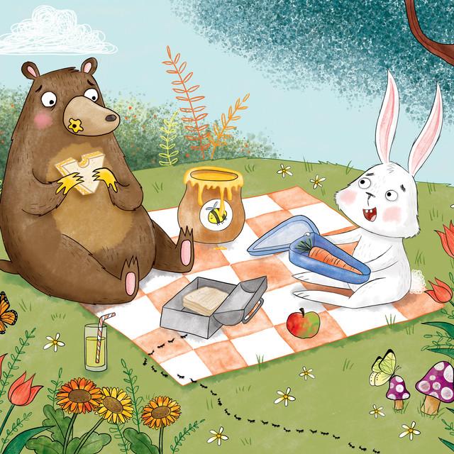 Bear and Rabbit's Picnic