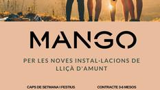 Jornades de selecció MANGO