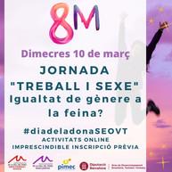 """Participa a la Jornada del """"Dia de la Dona""""!"""