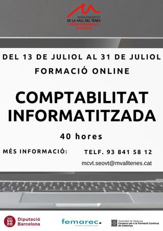 Formació Comptabilitat Informatitzada