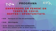 EMPRENDRE EN FEMENÍ EN TEMPS DE COVID. REPTES I OPORTUNITATS.