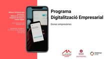 Programa de digitalització empresarial. Dones empresàries.