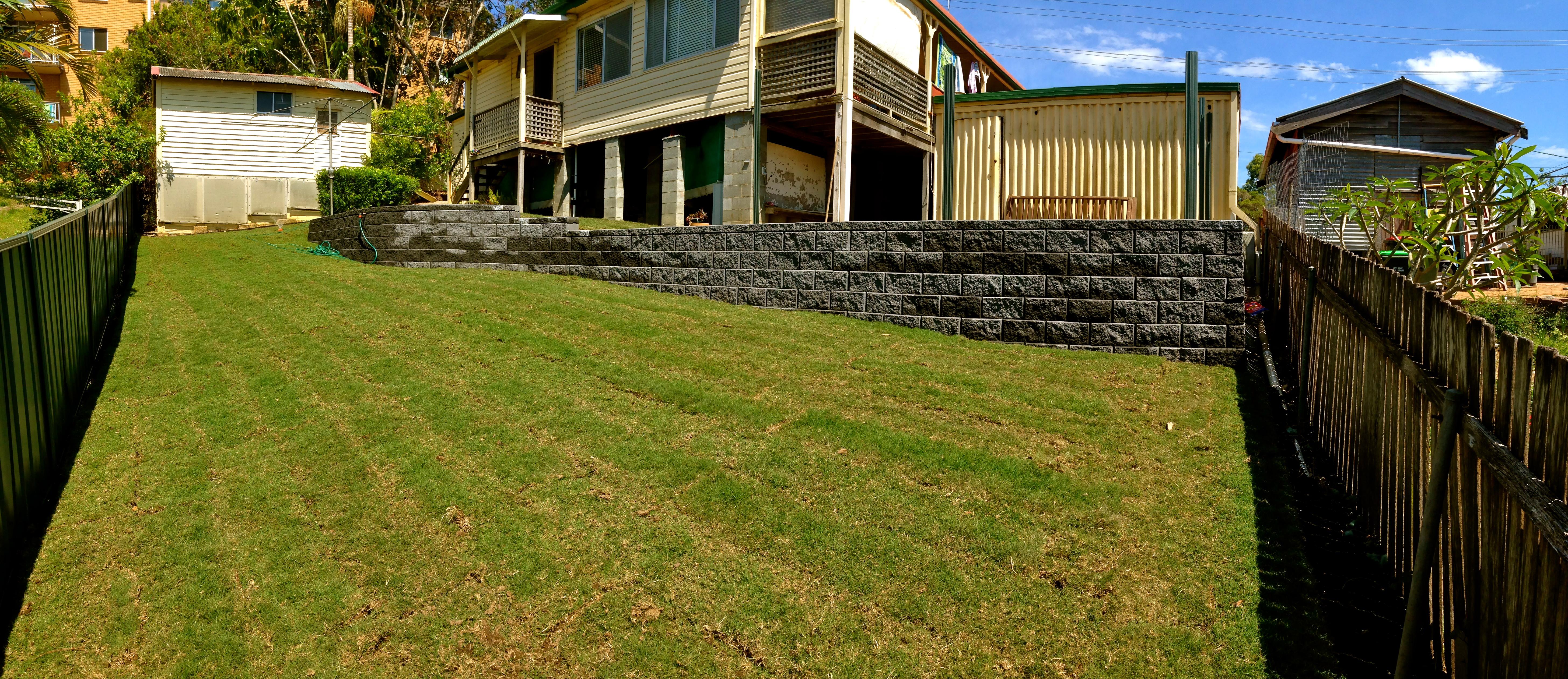 Coffs Harbour Backyard Makeover