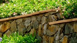 Korora Stone Retaining Wall