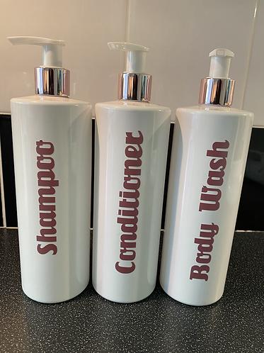 500ml Dispenser Pump Bottles
