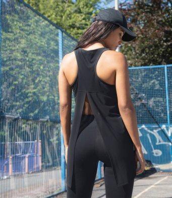 Tombo Ladies Open Back Vest