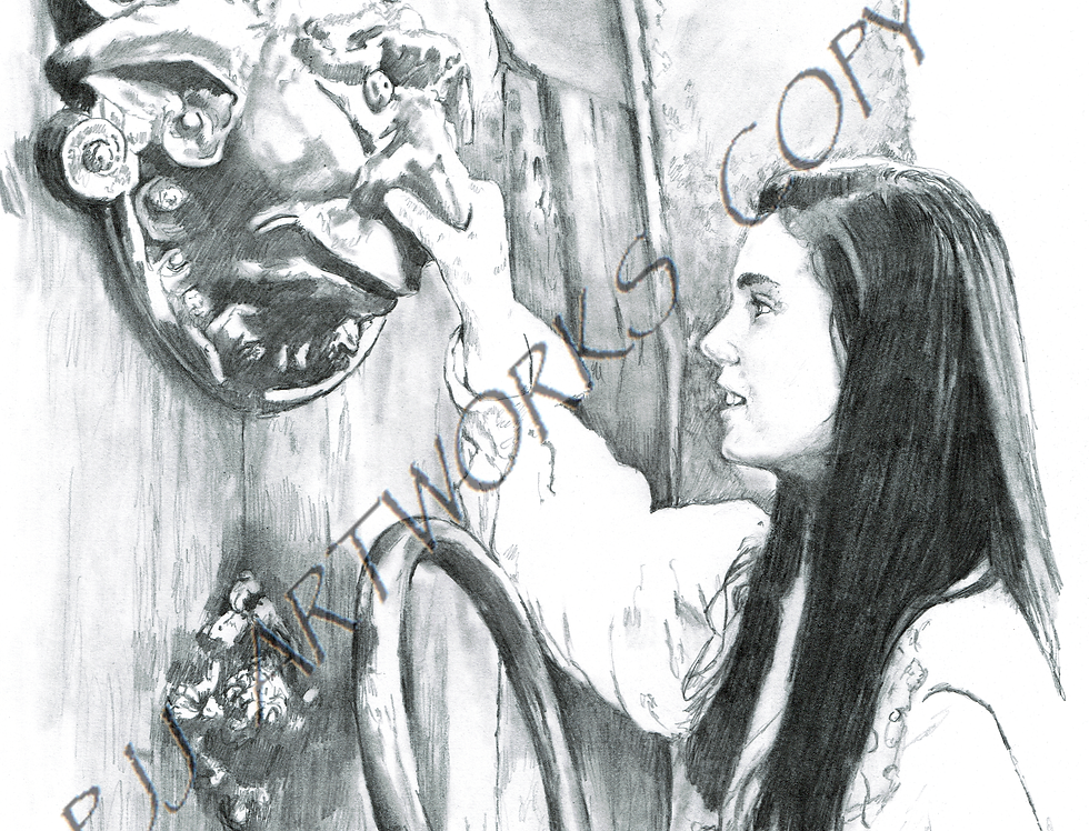 Labyrinth Door Knocker