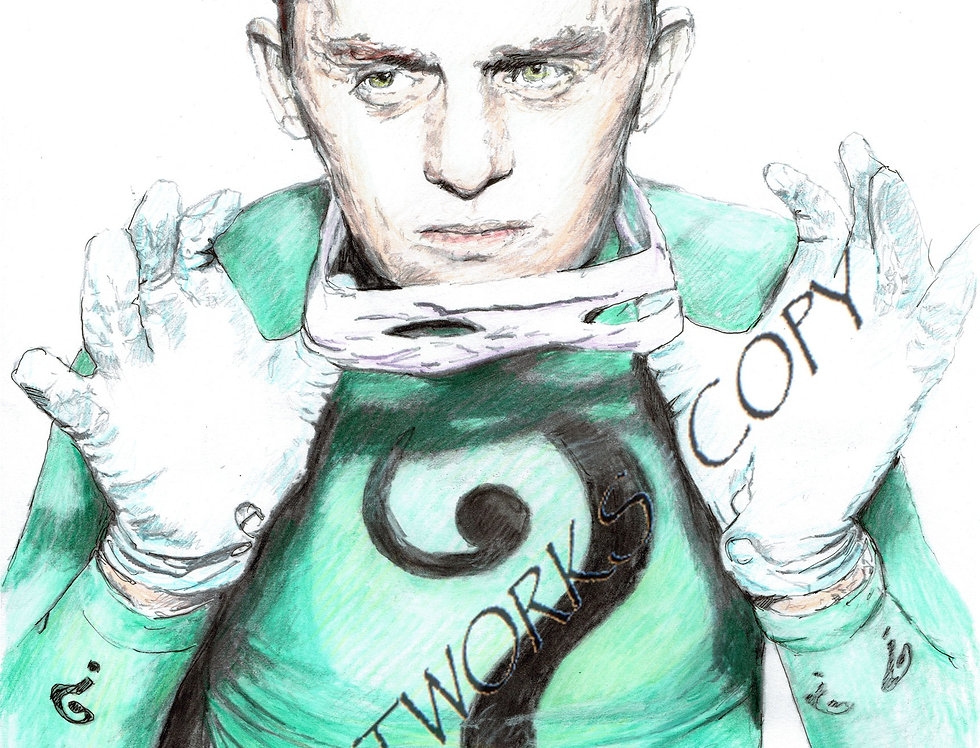 Frank Gorshin as The Riddler   Colour