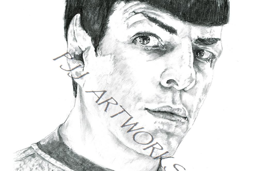STAR TREK Spock Zachary Quinto
