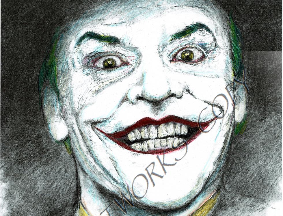 Jack Nicholson Joker Colour