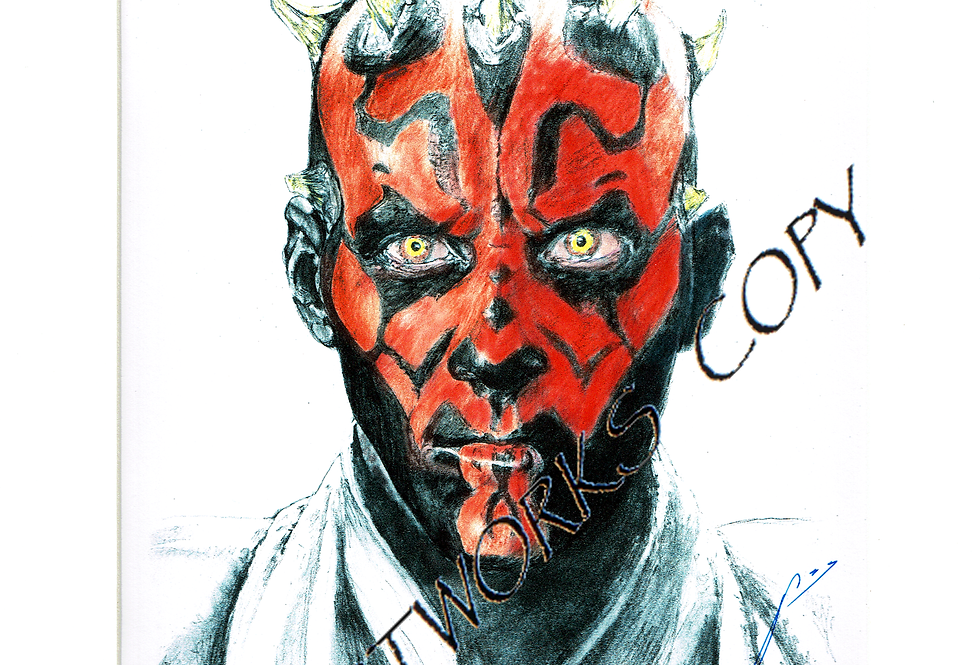 Darth Maul colour