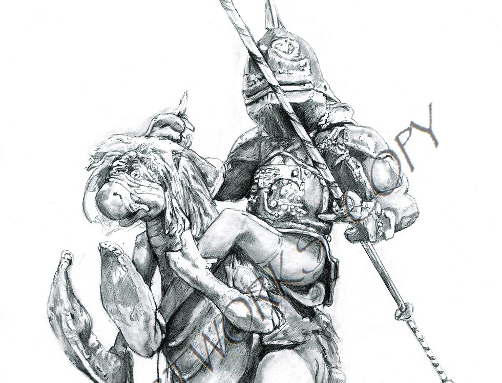 Labyrinth Goblin Knight