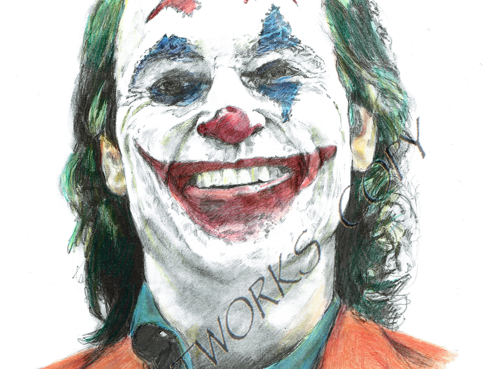 TH JOKER Joaquin Phoenix colour