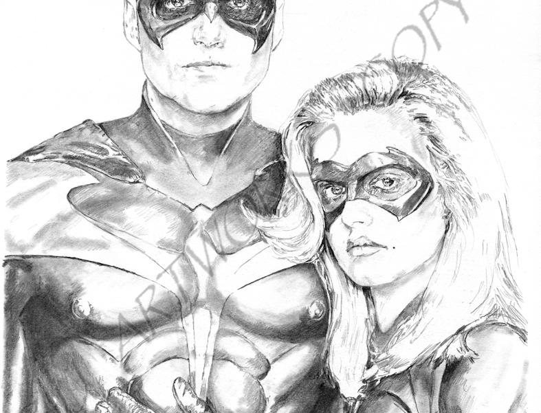 Robin & Batgirl