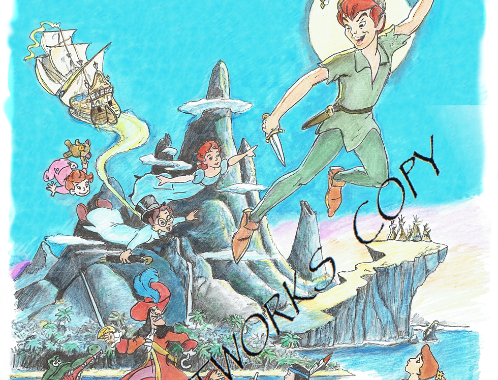Peter Pan colour