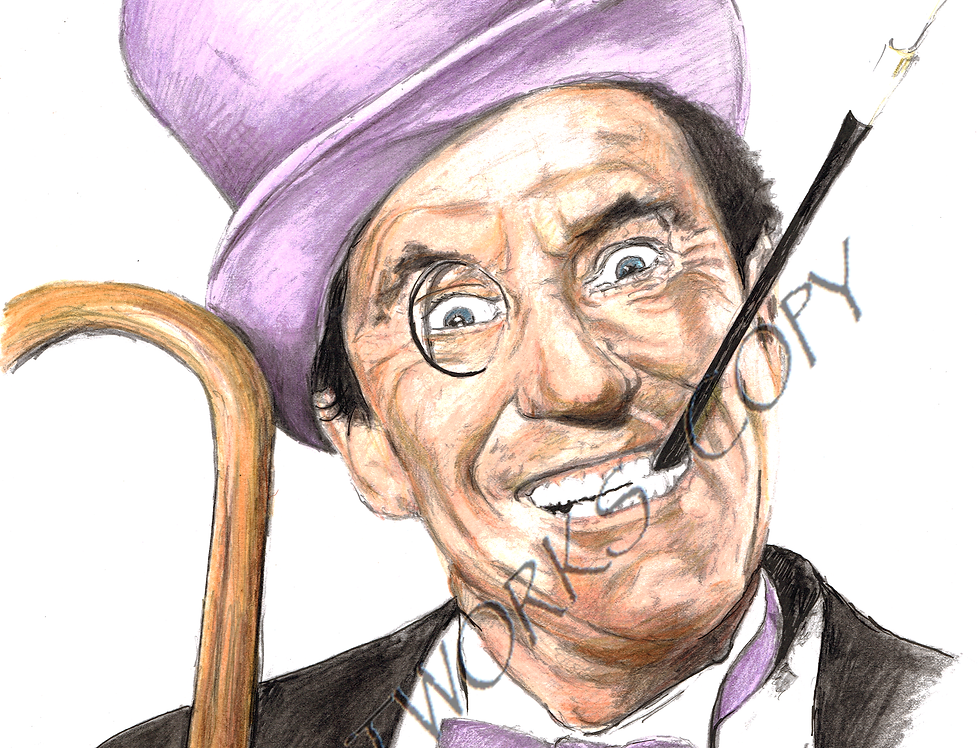 Burgess Meredith as the Penguin colour