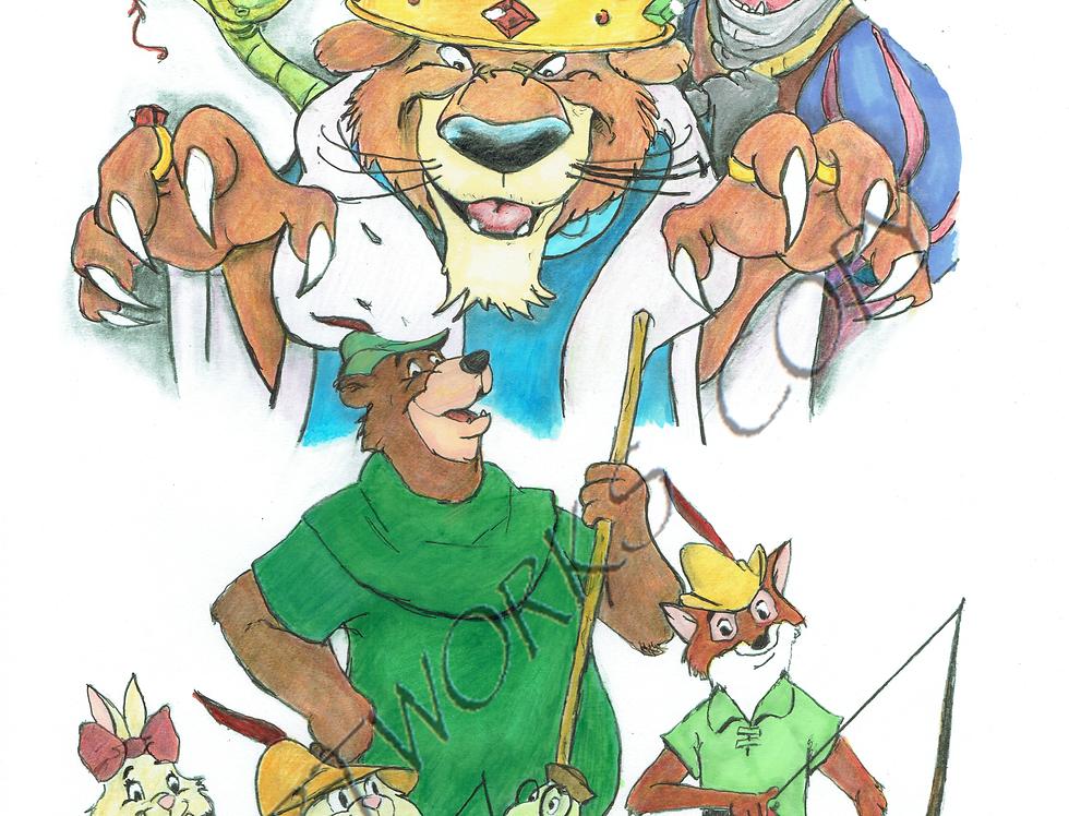 Robin Hood colour