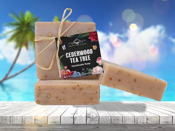 Cedarwood & Tea Tree Luxury Soap