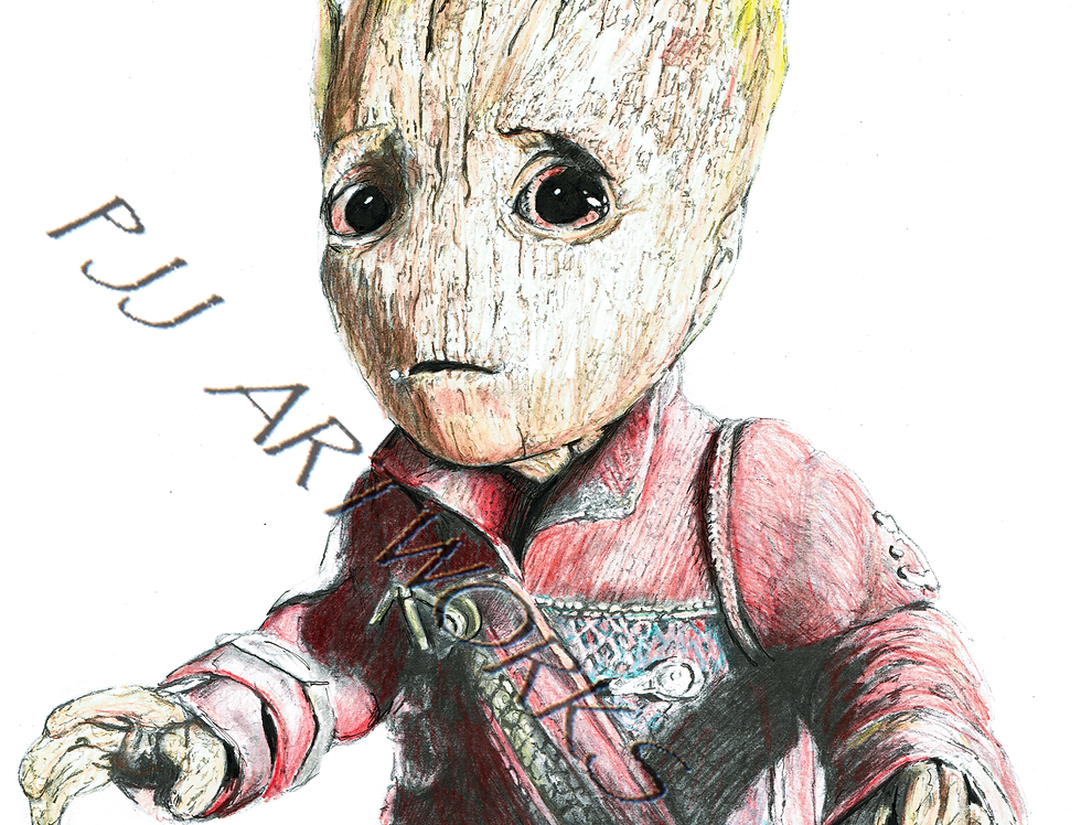 Baby Groot Colour