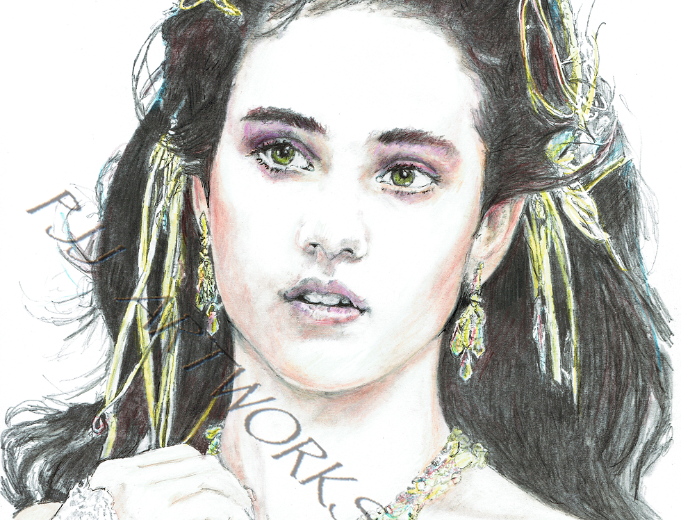 LABYRINTH SARAH JENNIFER CONNELLY IN COLOUR