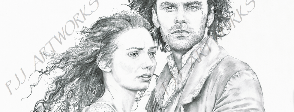 Poldark ross and Demelza  Aiden Turner Eleanor Tomlinson