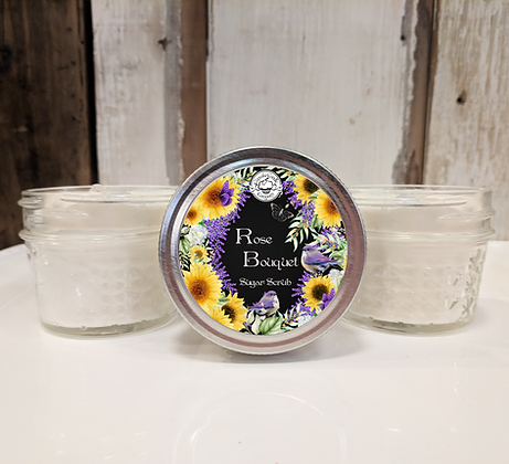 Rose Bouquet Sugar Scrub