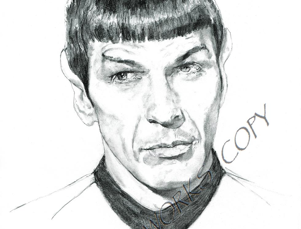 Star Trek SPOCK .Leonard Nimoy