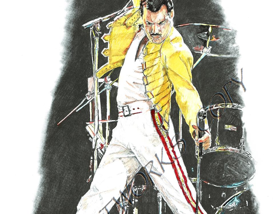 Freddie Mercury colour