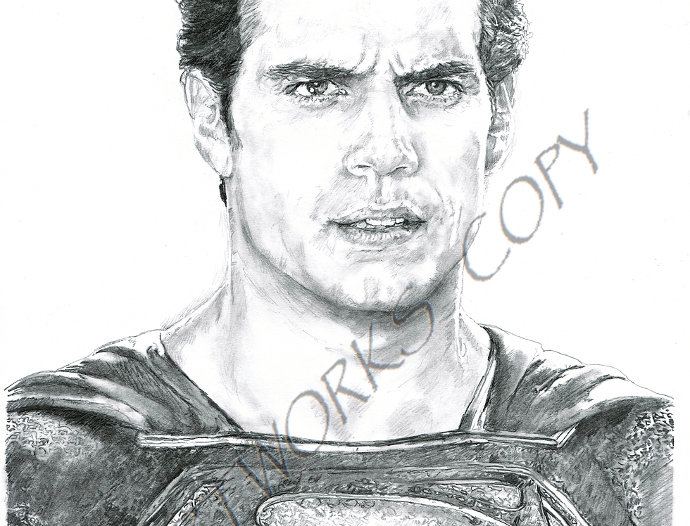 SUPERMAN Henry Cavil