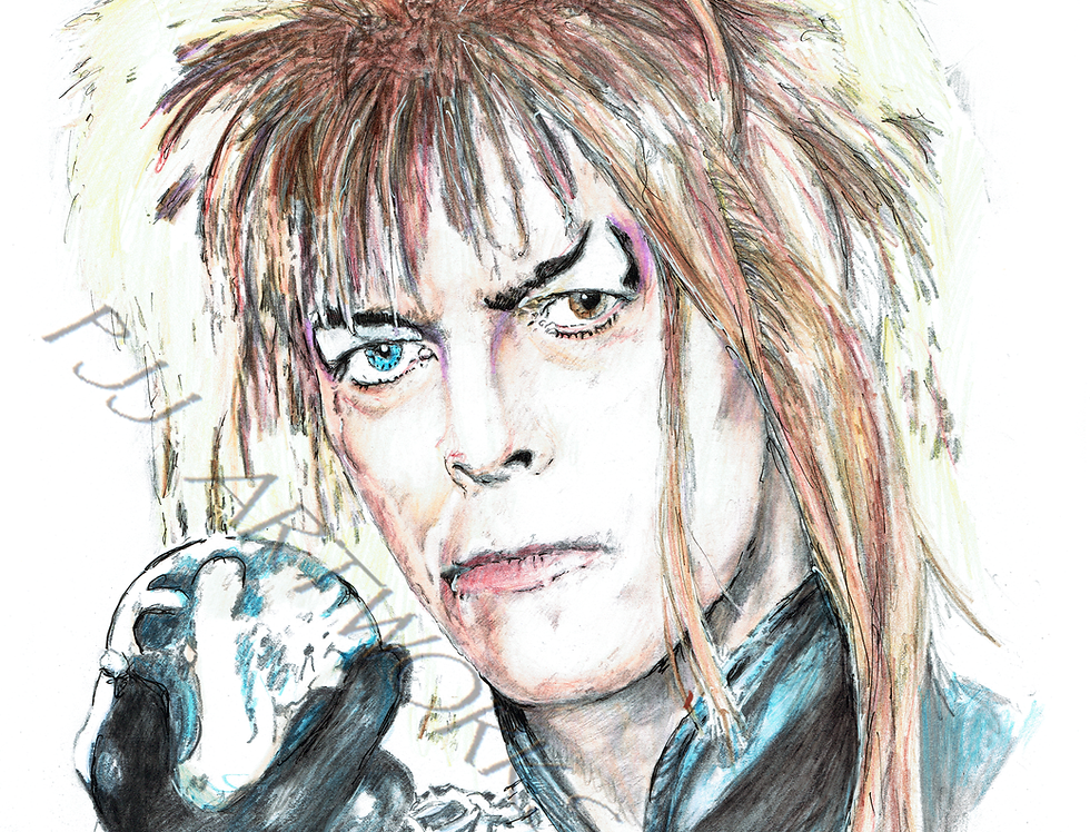 LABYRINTH DAVID BOWIE GOBLIN KING COLOUR