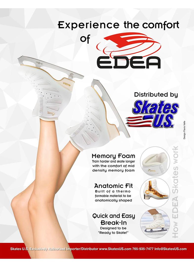 The Comfort in Edea Skates