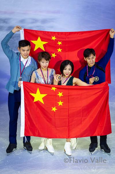 Wenjing SUI - Cong HAN (CHN) Cheng PENG - Yang JIN (CHN)