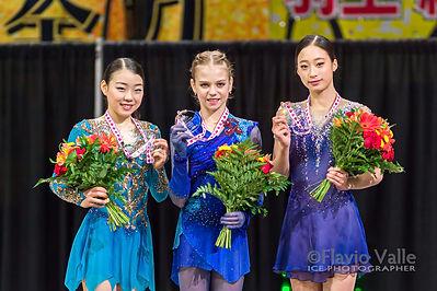 Victory Cerimony Alexandra TRUSOVA (RUS)