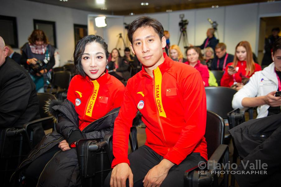 Wenjing SUI - Cong HAN (CHN)