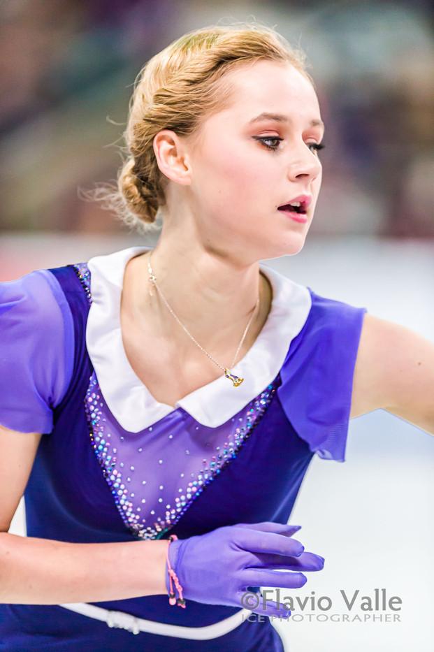Serafima SAKHANOVICH (RUS)