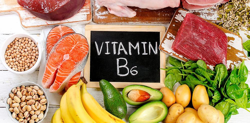 女性ホルモンにも関わる「ビタミンB6」|副腎疲労HP