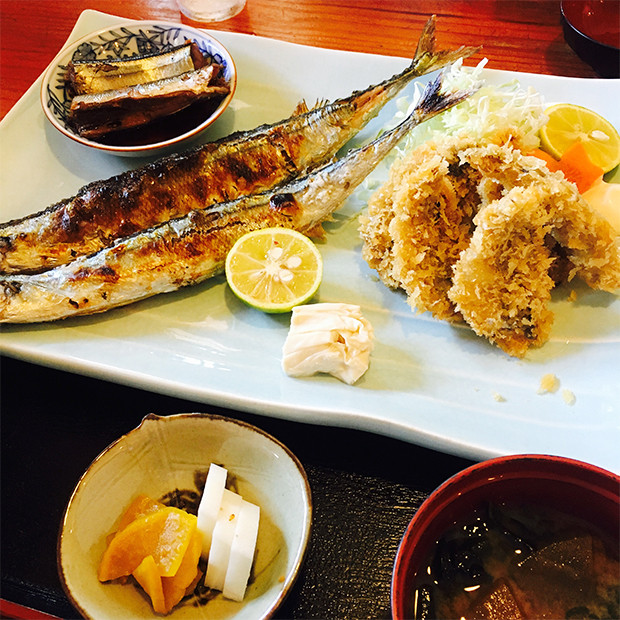 秋の味覚!千葉北にあるオススメの定食屋「辰巳食堂」でサンマを堪能