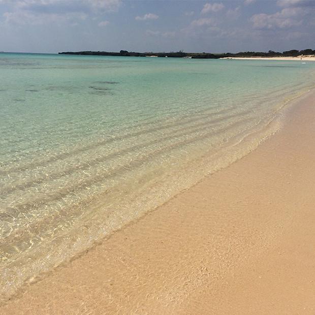 宮古島の砂浜がきれいな海|副腎疲労HP