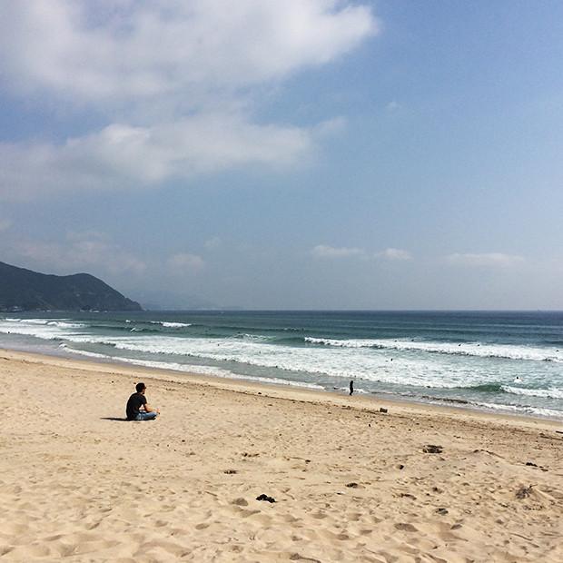 お天気快晴の伊豆の海|副腎疲労HP